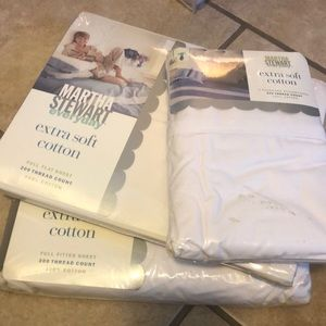 NIP Full Flat, Fitted cotton Sheets and Pillow cas